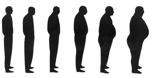 Symptômes de l'andropause chez l'homme.
